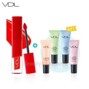 VDL Expert Color Lip Cube Fluid Tattoo Set 5items [August 2017 Limited]